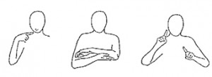 S-M-O-G Spreken met Ondersteuning van Gebaren: de ondersteunende gebaren